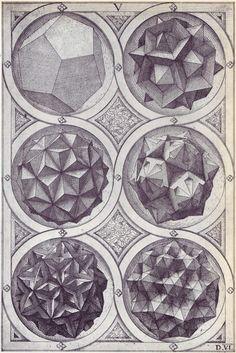 Wenzel Jamnitzer / Sacred Geometry