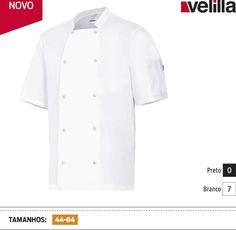 URID Merchandise -   JAQUETA DE COZINHEIRO DE MANGA CURTA   21.65 http://uridmerchandise.com/loja/jaqueta-de-cozinheiro-de-manga-curta/