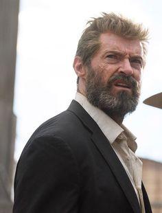 "L for ""Logan"" Logan Wolverine, Wolverine Art, Wolverine Poster, Hugh Jackman, Hugh Michael Jackman, Old Man Logan, Australian Actors, Man Movies, Super Hero Costumes"