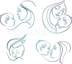 Google Image Result for http://www.colourbox.com/preview/4473721-794653-mother-with-baby-set-of-linear-silhouette-illustrations.jpg