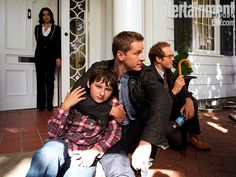 Once upon a time  - Josh Dallas - David - Prince Charming - OUAT - Henry Mills - Jared Gilmore