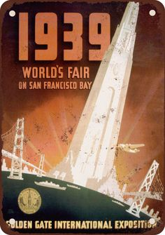 1939 World's Fair poster