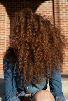 Curly & Hair Color