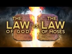 The Law of God vs the Law of Moses - 119 Ministries - YouTube