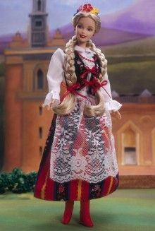 1998 Polish Barbie® | Barbie Dolls of the World Collection *DOLLS OF THE WORLD