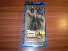 Lord of the Rings Action Figure New Sealed Merry in Rohan Armor RARE | eBay