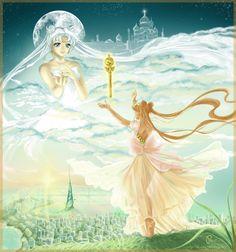 Resultado de imagen para sailor moon queen serenity