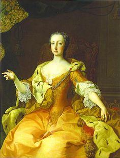 Maria Christina by ? (location unknown to gogm) Le Boudoir de Marie-Antoinette Portraits des soeurs de Marie-Antoinette threadx Lakme 3Jun10