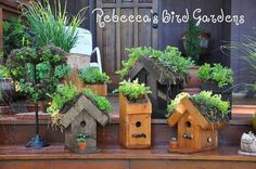 20 stunning bird houses, crafts, outdoor living, woodworking projects