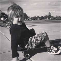 Skatertje, our cousin Teun