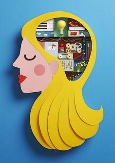 Katrin Rodegast : le cerveau d'une blonde est bien rempli !!