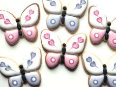 Pretty Butterflies cookies.