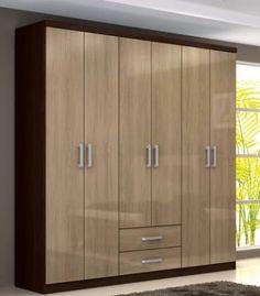 SUPER OFERTA!!ROPERO ACEROLA PRECIO CONTADO:1.000.000 FINANCIADO:12 X 107.000 15 X 90.000 18 X 76.000 MEDIDAS DEL ROPERO ALTO:1.80 ANCHO:1.65 PROFUNDIDAD:0.46 CONSULTAS AL 0985216745 Wardrobe Door Designs, Wardrobe Design Bedroom, Bedroom Bed Design, Bedroom Furniture Design, Wardrobe Doors, Wardrobe Closet, Home Room Design, Closet Designs, Home Interior Design