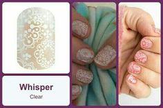 #WhisperJN #B3G1 Shop at https://jamminmomma79.jamberry.com/ #angiesjammies #whisper #manicure #naildesign #nailart #nails