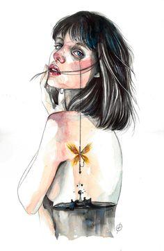 Hoy entrevisto a Chari Nogales, una diseñadora gráfica y dibujante que conocí por casualidad en Facebook, ojeando entre los montones de grupos para dibujantes e ilustradores que hay. Y me en…