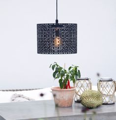 Oudoor metal pendant Maison by Sessak