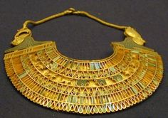 Gold jewelry artifact ancient-egypt