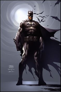 Batman Commission Colored Version - David Finch/Scott Williams