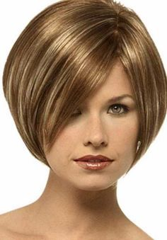 Inverted Bob Hairstyle | this inverted bob hairstyle is best bob hairstyle that you can try in ...