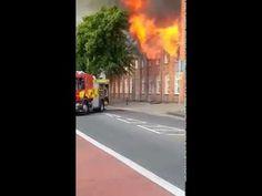 house fire on amhurst road london hackney e8 1ln - YouTube