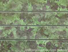 Green Watercolor Camo Textured Slatwall - Camouflage Slatwall is finally here!