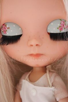 Cinderella Moments: Baking with Brinlie - My new Customized Blythe Doll