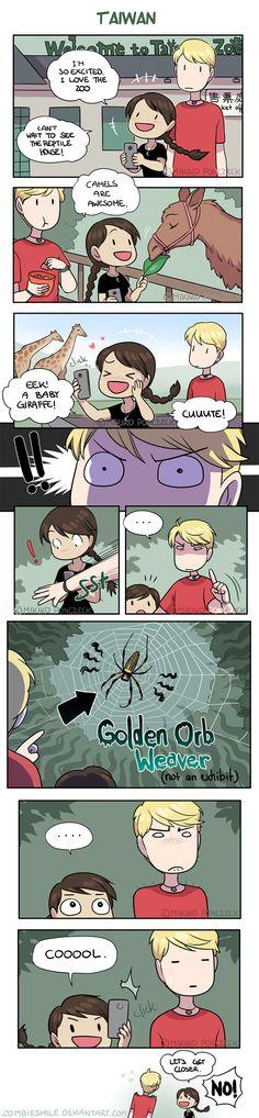 Spider Senses! by Zombiesmile.deviantart.com on @DeviantArt