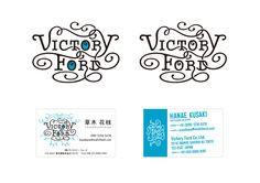 「Victory Ford」社名ロゴと名刺デザイン。(2015年)