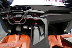 Photo Intérieur Peugeot Quartz Concept (2015) - Circuit de Mortefontaine Car Interior Design, Interior Rendering, Interior Sketch, Spaceship Interior, Car Interiors, Car Makes, Dashboards, Transportation Design, Industrial Design