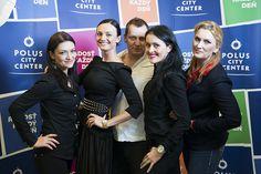 Miroslava Michalková s tímom valentínskeho salónu krásy.