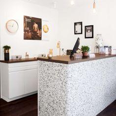 Genial Terrazzo Counter In Paris