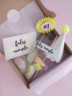 Mini Tortillas, Diy For Kids, Crafts For Kids, Pop Box, A 17, Diy Christmas Gifts, 5th Birthday, Kit, Crates