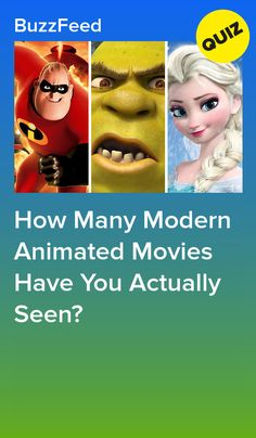 How Many Modern Animated Movies Have You Actually Seen? Quizzes For Fun, Girl Quizzes, Great Movies To Watch, Disney Quiz, Interesting Quizzes, How Many, Diy Arts And Crafts, Lol, Animation