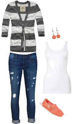 School Outfit, created by curiouschicklette on Polyvore