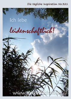 Die tägliche Inspiration No.321 www.inspirationenblog.wordpress.com www.ulrikebischof.de