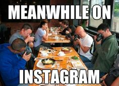 Meanwhile on Instagram…
