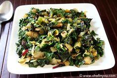 Beet Greens with Green Garlic