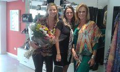 Simone e Rafaela Trombini da Maria Luz lenços maravilhosos e exclusivos
