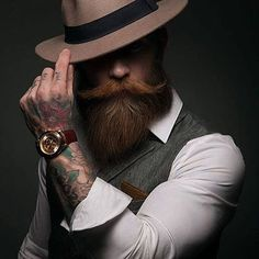 A great piece of handsome classics for ya ) : #style #fashion #styles #mensstyleguide #mensstyles #menstyle #mensfashion #menswear #menwithclass #menwithstreetstyle #gentleman #highfashion #sprezzatura #mensfashionreview #mensstyle #menstyle #highfashionmen #styleblogger #beard #bearded #beardman #beardie #beardedmen #beardmen #beardlovers #beardlife #beardsofinstagram #beardstyle #hat #tattoo