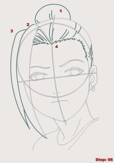 How to Draw Ino from Naruto Anime Character Drawing, Manga Drawing, Manga 3d, Naruto Drawings Easy, Trill Art, Manga Naruto, Art Drawings Sketches, Drawing Techniques, Art Tutorials