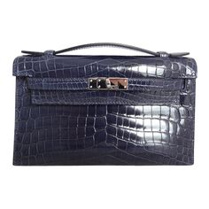 Shop our selection of vintage bags from the world's best fashion stores. Vintage Bags, Vintage Handbags, Hermes Kelly, Crocodile, Kelly Bag, Fashion Handbags, Mini, Purses And Bags, Shoe Bag