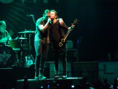 Shinedown - Brent Smith and Zach Myers