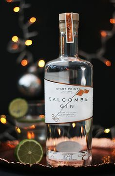 Salcombe Gin. Tasted at Gin Shack with ft Mediterranean tw. Smooth and clean