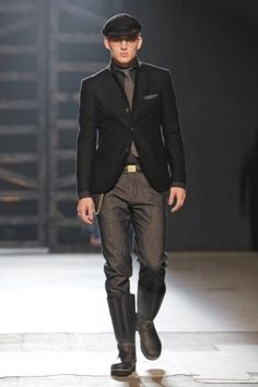 Michael Bastian Menswear Fall Winter 2013 New York Runway Fashion, Latest Fashion, Mens Fashion, Live Fashion, Fashion Show, Michael Bastian, Gentleman, Fashion Photography, Fall Winter