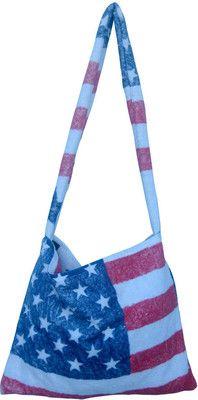Fresco Vintage Americana Messenger Bag