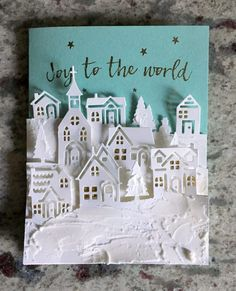 9 More Easy Homemade Christmas Cards with Step by Step Instructions – DIY Theory Christmas Cards 2017, Stamped Christmas Cards, Christmas Hearts, Stampin Up Christmas, Noel Christmas, Xmas Cards, Handmade Christmas, Holiday Cards, Stampin Up Weihnachten