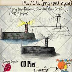 Pier Hand-Drawn
