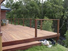 Decking Designs - deck designs and photos. Please visit our gallery to view our timber decking designs in Brisbane, Sunshine Coast and on the Gold Coast.