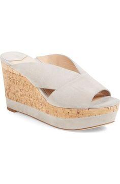 Diane von Furstenberg 'Monaco' Wedge Sandal (Women) available at #Nordstrom