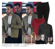 """Liam~#38"" by lauren-beth-owens ❤ liked on Polyvore featuring Payne, Topshop, Annello, Marc Jacobs, Urban Decay, Smoke x Mirrors, Louis Vuitton and Puma"